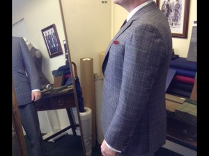 Bespoke tailoring classes. Bespoke coat