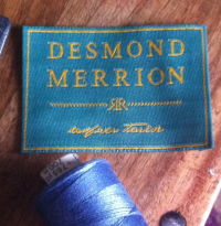 Desmond Merrion bespoke tailor Leeds new label
