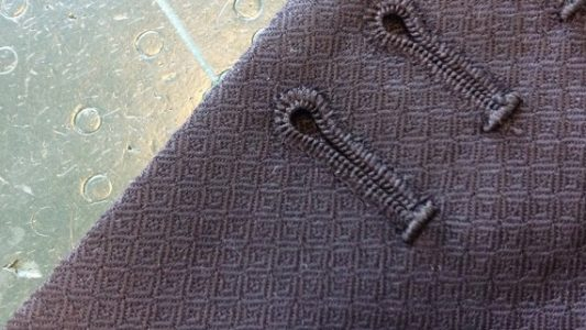 Hand made button holes